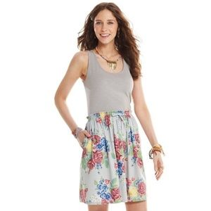 Matilda Jane Seven Seas Dress Gray Floral